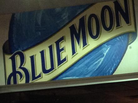 Phillips Arena Blue Moon