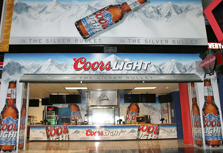Phillips Arena Coors Light